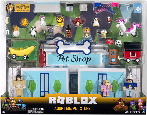Roblox Celebrity Collection Adopt Me: Pet Store Exclusive Figure Set (Pre-Order ships November)