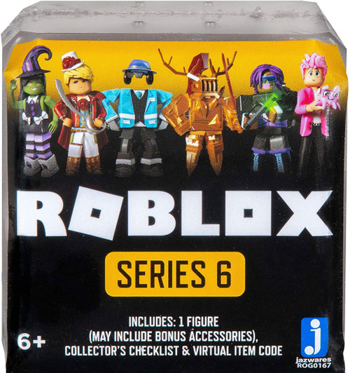 Roblox Celebrity Collection Series 6 Mystery Pack [White Cube, 1 RANDOM Figure & Virtual Item Code!]