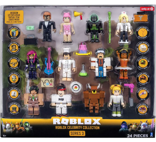 Roblox Series 3 Celebrity Collection Exclusive Action Figure 12-Pack