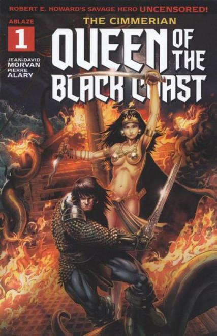 Ablaze The Cimmerian: Queen Of The Black Coast #1A Comic Book