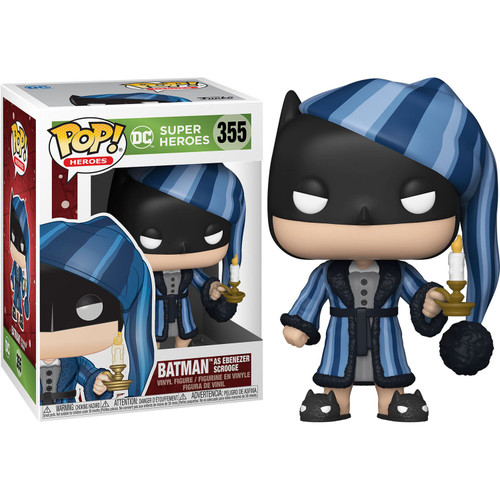Funko DC Holiday POP! Heroes Batman as Ebenezer Scrooge Vinyl Figure #355