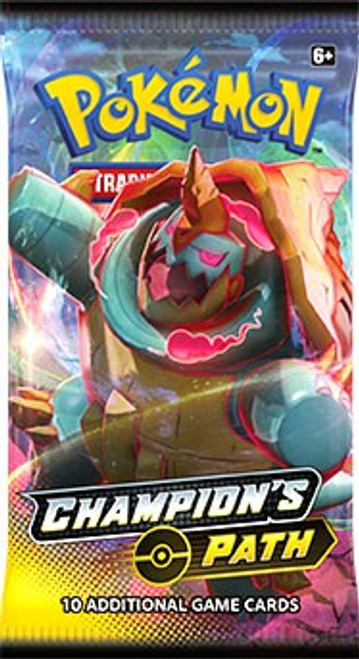 Pokemon Trading Card Game Champion's Path Booster Pack [10 Cards]