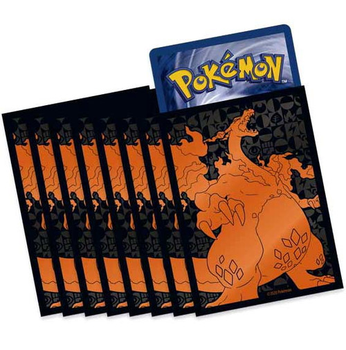 Pokemon Trading Card Game Champion's Path Gigantamax Charizard Card Sleeves [65 Count]