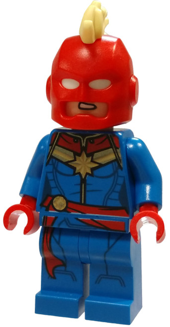 LEGO Marvel Super Heroes Avengers Captain Marvel Minifigure [Helmet Loose]