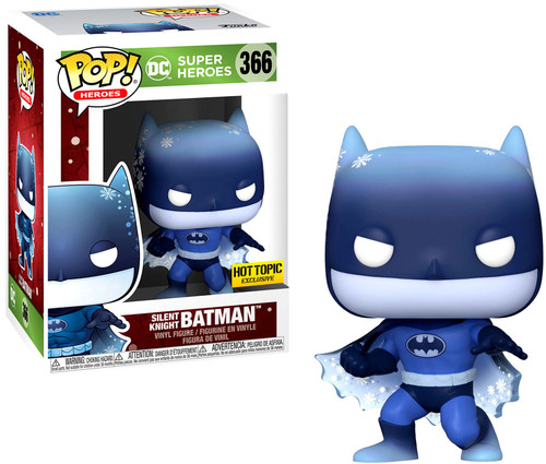 Funko DC Holiday POP! Heroes Silent Knight Batman Exclusive Vinyl Figure #366 (Pre-Order ships February)