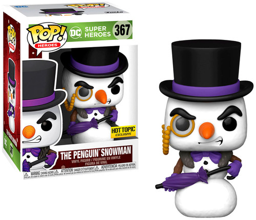 Funko DC Holiday POP! Heroes Penguin Snowman Exclusive Vinyl Figure #367 (Pre-Order ships February)