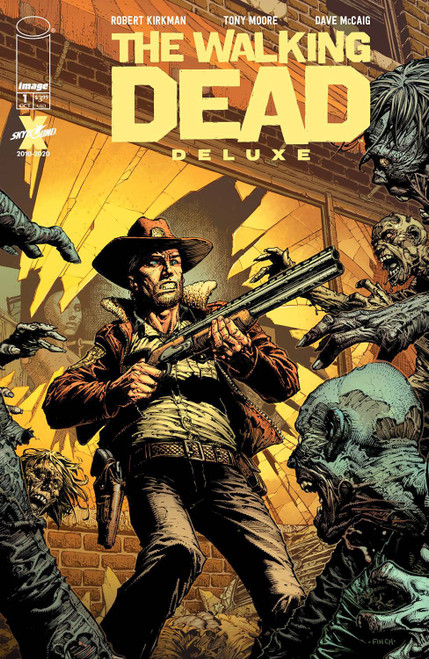 Image Comics The Walking Dead Deluxe #1 Comic Book [Cover A Finch & McCaig]