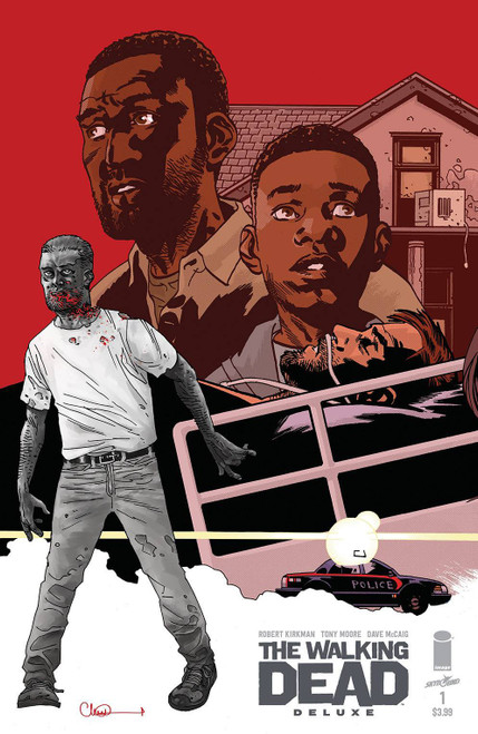 Image Comics The Walking Dead Deluxe #1 Comic Book [Cover C Adlard]