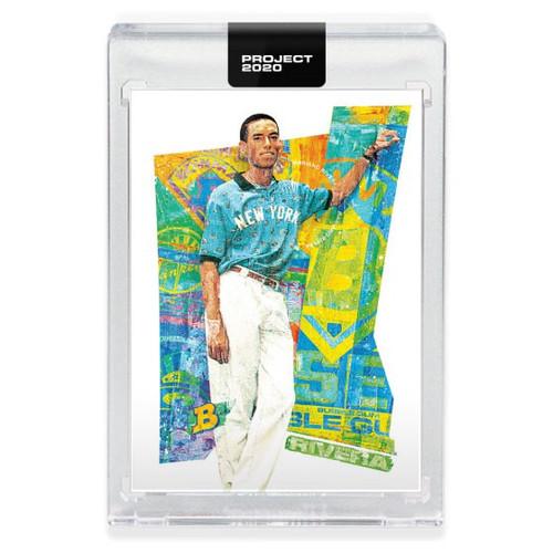 MLB Topps Project 2020 Baseball 1992 Mariano Rivera Trading Card [#179, by Tyson Beck]