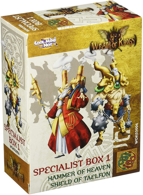 Wrath of Kings Specialist Box 1 Miniatures WOK03006 [Hammer of Heaven, Shield of Taelfon]