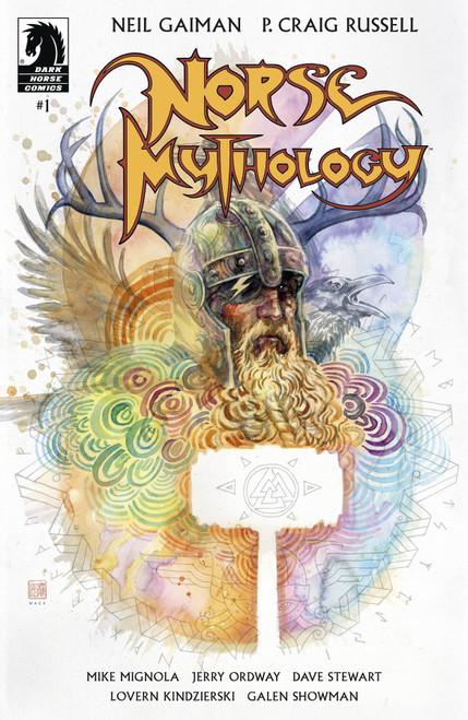 Dark Horse Neil Gaiman Norse Mythology #1 Comic Book [David Mack Cover B]