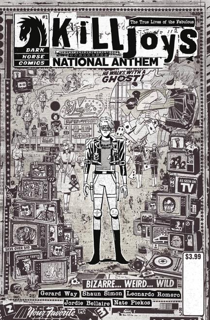 Dark Horse True Lives of the Fabulous Killjoys #1 National Anthem Comic Book [Cover C Rentler]
