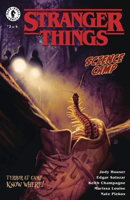 Dark Horse Stranger Things Science Camp #2 Comic Book [Viktor Kalvachev Cover A]