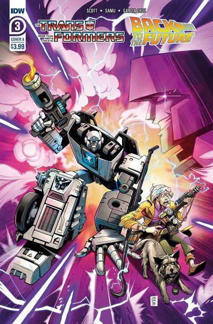 IDW Transformers Back to the Future #3A Comic Book