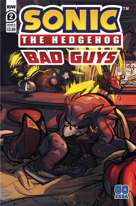 IDW Sonic The Hedgehog Bad Guys #2 of 4 Comic Book [Cover B]