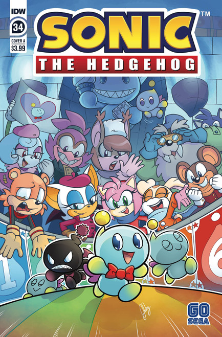 IDW Sonic The Hedgehog #34 Comic Book [Cover A]