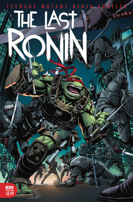 IDW Teenage Mutant Ninja Turtles #2 of 5 Last Ronin Comic Book