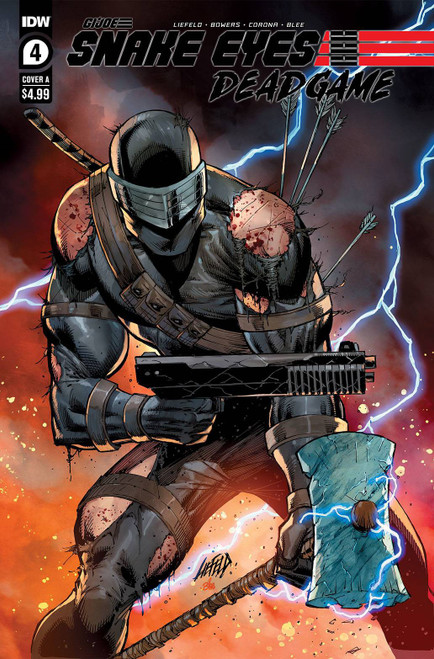 IDW Publishing Snake Eyes Deadgame #4 Comic Book [Cover A] (Pre-Order ships January)