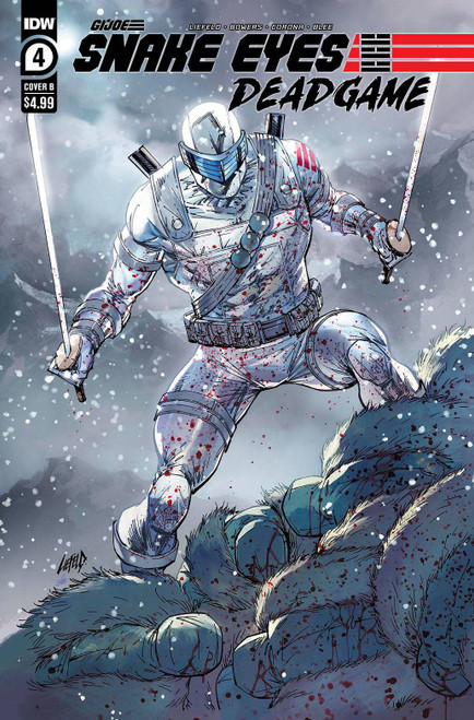 IDW Publishing Snake Eyes Deadgame #4 Comic Book [Cover B] (Pre-Order ships January)