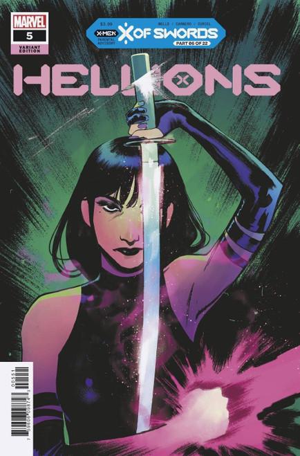 Marvel Hellions #5 X of Swords Comic Book [Pichelli Variant]