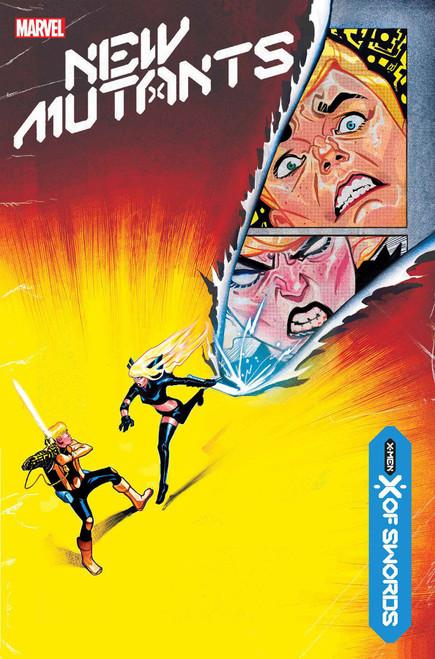Marvel New Mutants #13 X of Swords Comic Book