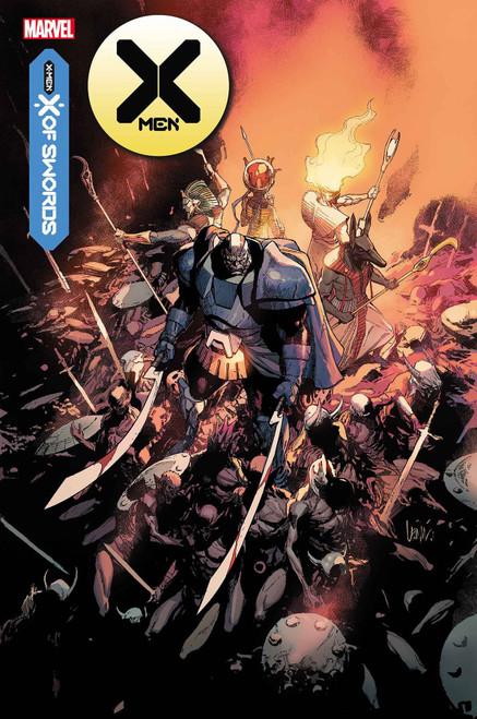 Marvel X-Men #13 X of Swords Comic Book