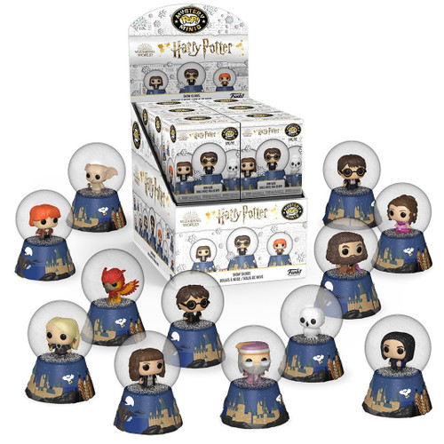 Funko Snow Globes Mystery Minis Harry Potter Mystery Box [12 Packs]