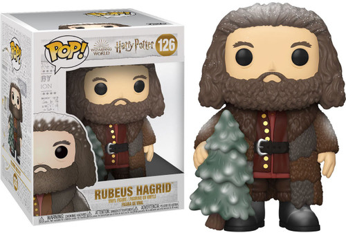 Funko Harry Potter Holiday POP! Movies Rubeus Hagrid 6-Inch Vinyl Figure #126 [Super-Sized]