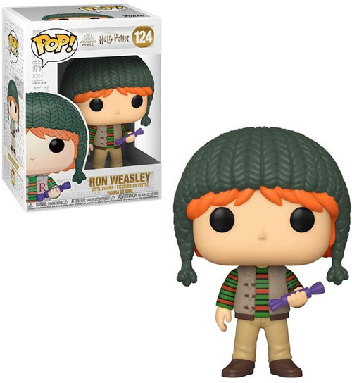 Funko Harry Potter Holiday POP! Movies Ron Weasley Vinyl Figure #124