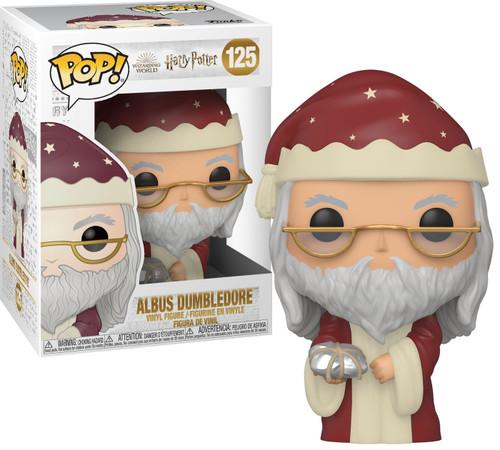 Funko Harry Potter Holiday POP! Movies Dumbledore Vinyl Figure