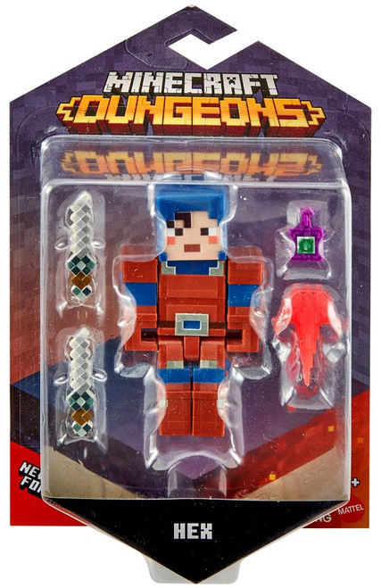 Minecraft Dungeons Hex Action Figure