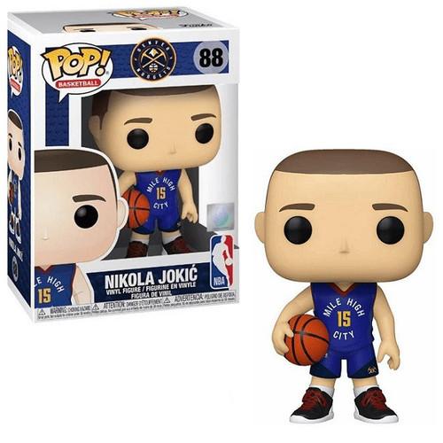 Funko NBA Denver Nuggets POP! Sports Basketball Nikola Jokic Vinyl Figure #88 [Alternative Uniform]