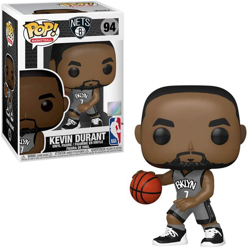 Funko Brooklyn Nets POP! NBA Kevin Durant Vinyl Figure [Alternative Uniform]