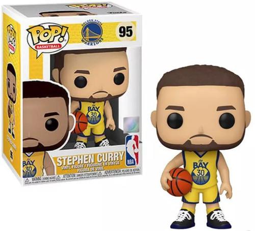 Funko NBA Golden State Warriors POP! Sports Basketball Steph Curry Vinyl Figure #95 [Alternative Uniform]