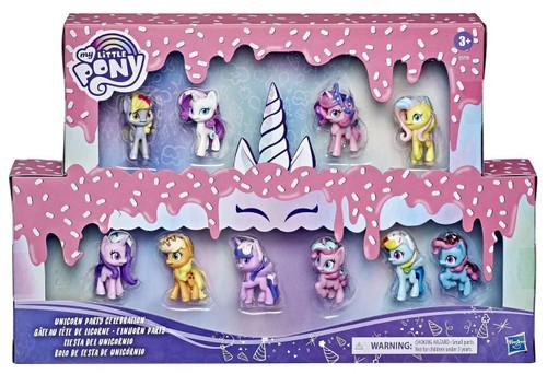 My Little Pony Unicorn Party Celebration Exclusive 1.5-Inch Mini Figure 10-Pack