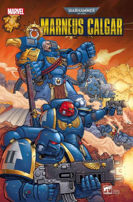 Marvel Comics Warhammer 40K #1 Marneus Calgar Comic Book