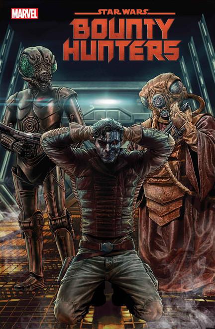 Marvel Comics Star Wars #6 Bounty Hunters Comic Book