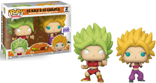 Funko Dragon Ball Z POP! Animation SS Kale & SS Caulifla Exclusive Vinyl Figure 2-Pack