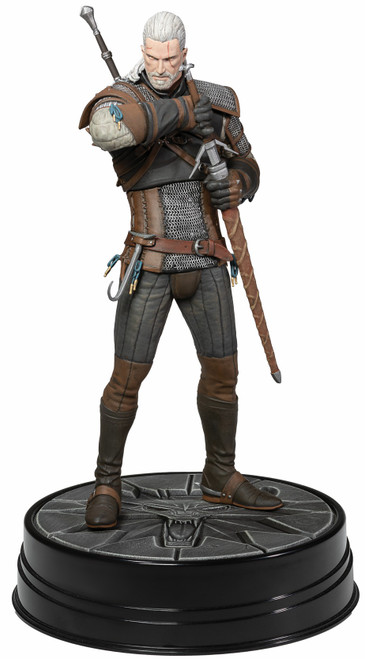 The Witcher 3: Wild Hunt Heart of Stone Geralt 8-Inch Deluxe PVC Statue Figure