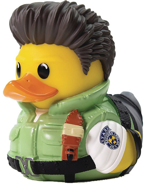 Resident Evil Tubbz Cosplay Duck Chris Redfield Rubber Duck (Pre-Order ships October)