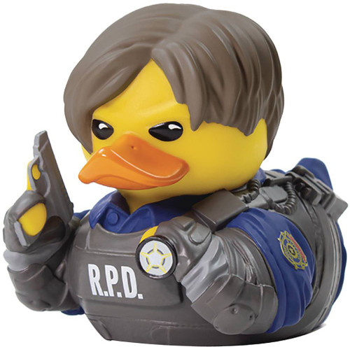Resident Evil Tubbz Cosplay Duck Leon Kennedy Rubber Duck