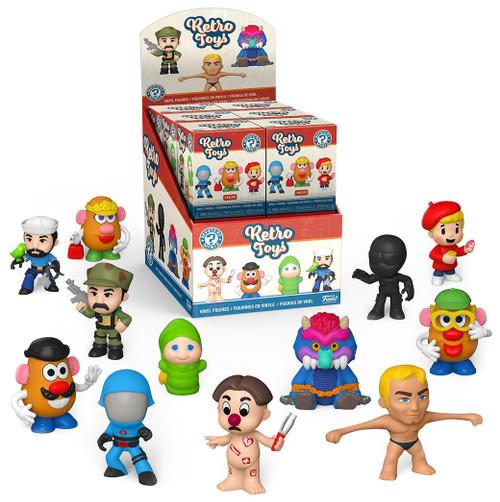 Funko Hasbro Mystery Minis Retro Toys Mystery Box [12 Packs]