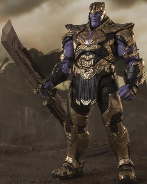 Marvel Avengers Endgame S.H. Figuarts Thanos Action Figure [Final Battle Edition]