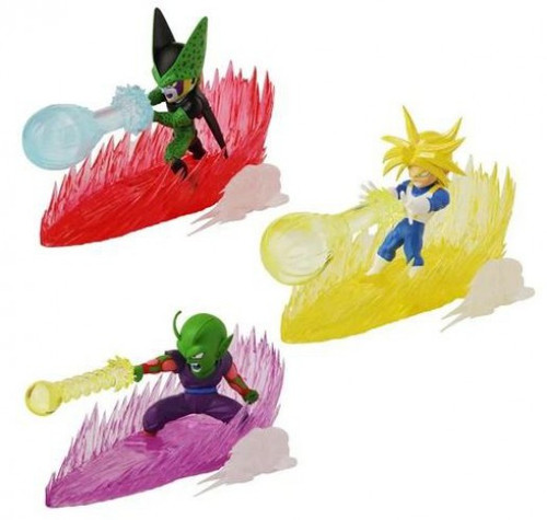 Dragon Ball Super Final Blast Piccolo, Perfect Cell & SS Future Trunks Action Figure Set (Pre-Order ships January)