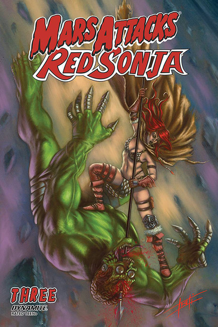 Dynamite Entertainment Mars Attacks Red Sonja #3 Comic Book [Cover B Strati]