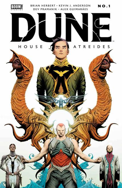 Boom! Studios Dune #1 House Atreides Comic Book [Cover A Lee]