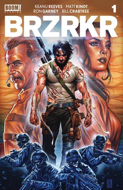 Boom! Studios Brzrkr #1 Comic Book [Cover B Vitti] (Pre-Order ships February)