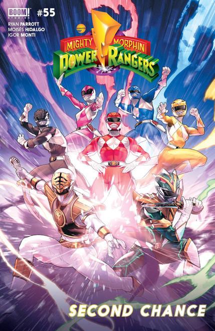 Boom Studios Mighty Morphin Power Rangers #55 Comic Book