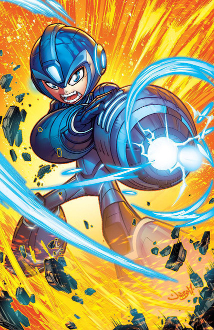 Boom! Studios Mega Man Fully Charged #3 Comic Book [Cover C Meyers]