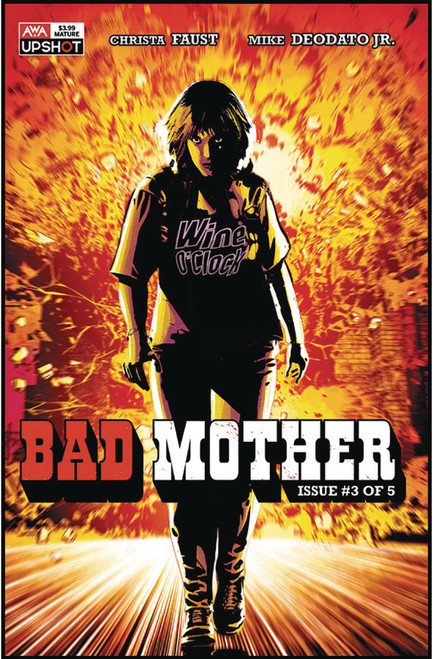 Artists Writers & Artisans Inc. Bad Mother #3 Comic Book